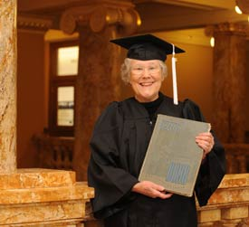 iowa state, Shirley Burns, nontraditional student