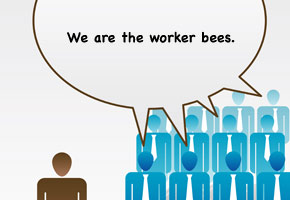 corporate culture worker bees
